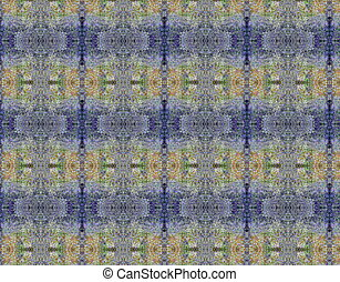 Blue lilac grunge vintage pattern wallpaper background -...