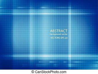 Blue line background. Vector illustration.