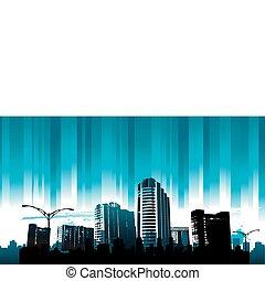Blue line city