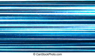 Blue Lines of Light Technology Abstract Background