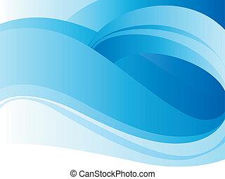 Blue loop background - Blue background with loop. Vector...