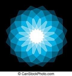 blue magic circle
