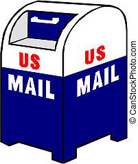 Blue Mailbox icon