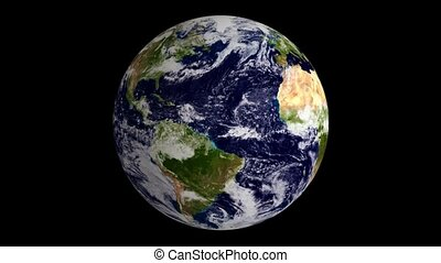 Blue Marble Earth Globe Loop - The Blue Marble Earth Globe...