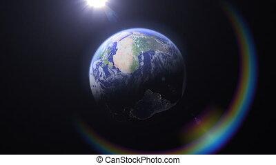 Blue Marble Rainbow, Americas (60fps)
