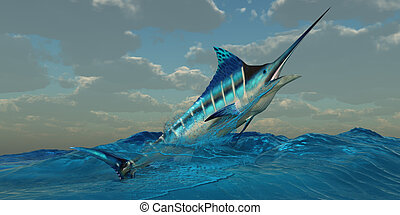 Blue Marlin Burst