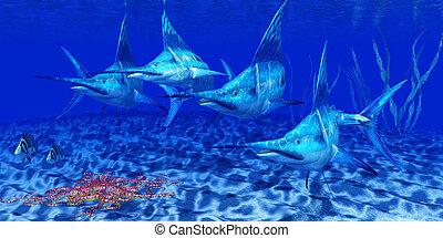 Blue Marlin Predators