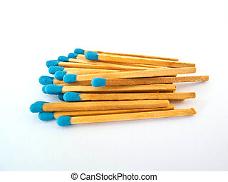 Blue Matchstick