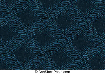Blue Material upholstery background or texture