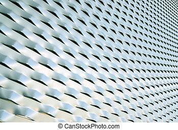 Blue mesh texture