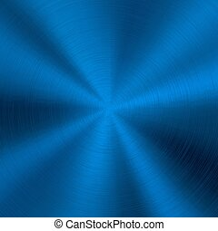 Blue Metal Technology Background - Blue metal technology...