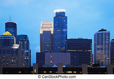 Blue Minneapolis