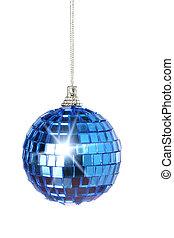 Christmas ball with glare