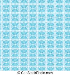 blue mix round pattern