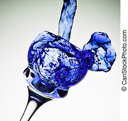 Blue Mood Splash