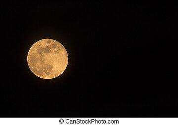 Blue Moon Rising Landscape Left