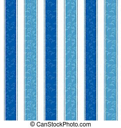 Blue Morning Glory Line Pattern Background