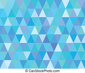 Blue Mosaic Abstract Background