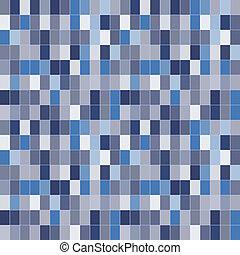 Blue mosaic - Creative design of blue mosaic