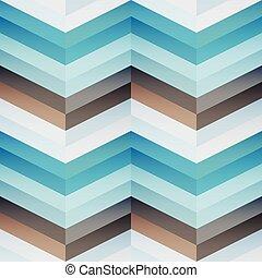 Blue mosaic seamless pattern