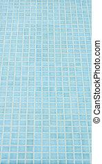 mosaic tile background in swiming pool