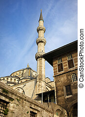 Blue Mosque Architecture in Istanbul