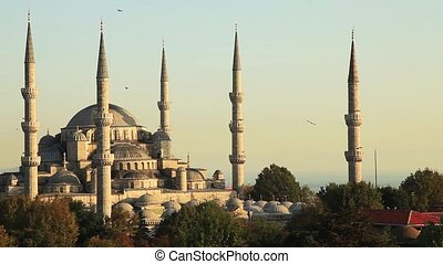 Blue Mosque - blue mosque at Istanbul turkey
