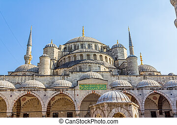 Blue mosque dome, Istanbul