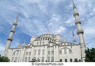 Blue Mosque exterior, Istanbul