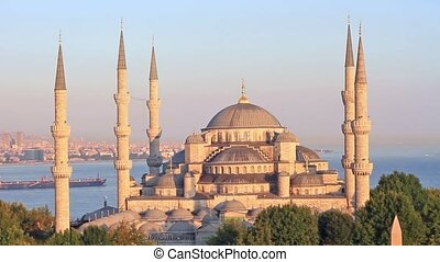 Blue Mosque in Istanbul, Turkey - Sultanahmet Camii most...