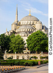 Blue Mosque Scenery
