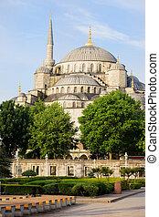 Blue Mosque Scenery