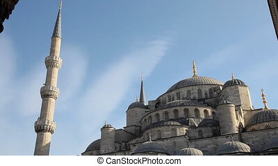 Blue Mosque, shooting Canon 5D Mark II