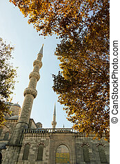 Blue Mosque Sultan Ahmet Cami in Istanbul Turkey
