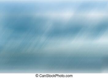 Blue motion blur background
