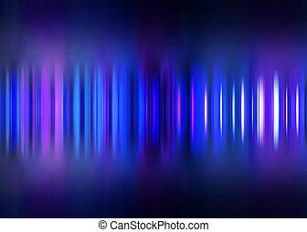 Blue motion blur striped background