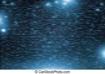 Blue Motion Digital Background Illustration. Motion Blur...