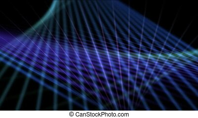 Blue motion mesh pattern,web background