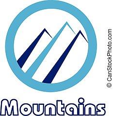 Blue mountain frame