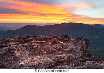 Blue Mountains Australia landscape