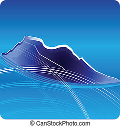 Blue Mountains logo vector