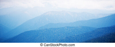 Blue mountains - View of blue mountains