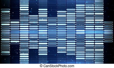 blue music equalizer seamless loop animation