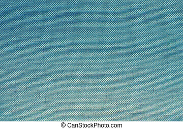 blue natural linen texture or background