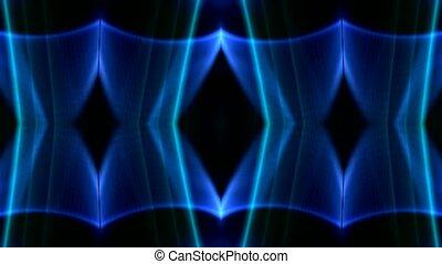 blue neon light,flare laser grid