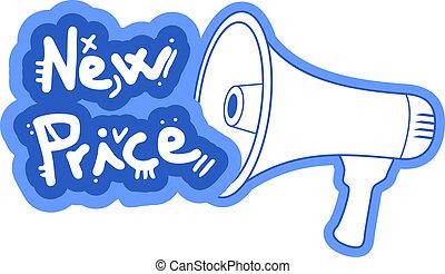 Blue new price
