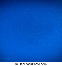 Blue night sky with many stars - Dark blue night sky with...