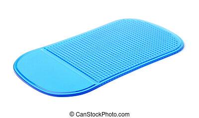 Blue non slip silicone pad