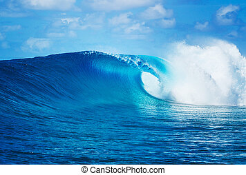 Ocean Wave - Blue Ocean Wave, Epic Surf