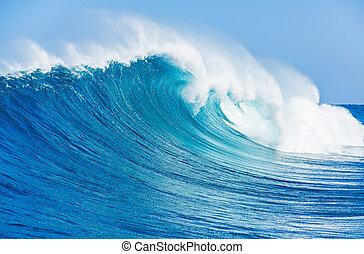 Wave - Blue Ocean Wave